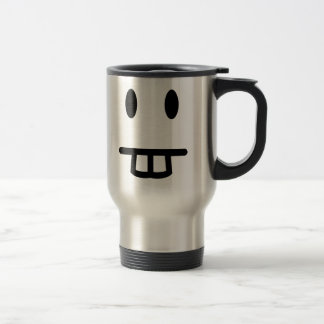 Bucktooth Face Travel Mug