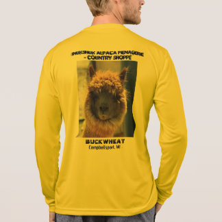 BUCKWHEAT Alpaca Long Sleeve t-shirt
