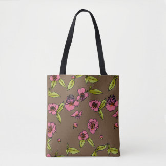Buckwheat Flower Tote Bag