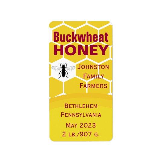Buckwheat Honeycomb