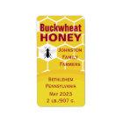 Buckwheat Honeycomb Label