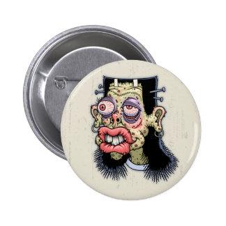 Bud of Frankenstein 2 Inch Round Button