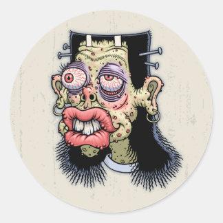 Bud of Frankenstein Round Sticker