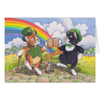 Bud & Tony #77 St. Patrick's Day Notecard