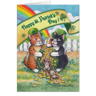 Bud & Tony #78 St. Patrick's Day Notecard
