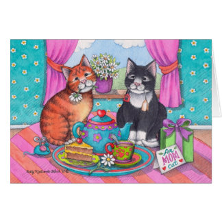 Bud & Tony #83 Mother's Day Tea Notecard