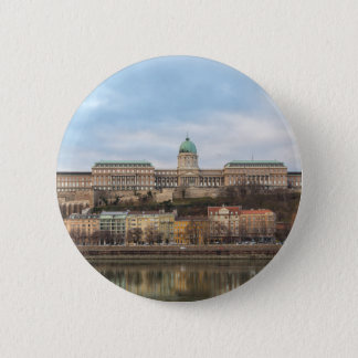 Buda Castle Hungary Budapest at day 2 Inch Round Button