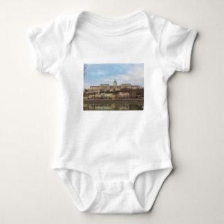 Buda Castle Hungary Budapest at day Baby Bodysuit