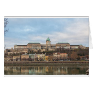 Buda Castle Hungary Budapest at day Card