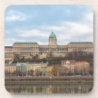 Buda Castle Hungary Budapest at day Coaster