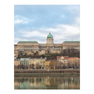 Buda Castle Hungary Budapest at day Letterhead