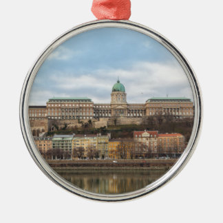 Buda Castle Hungary Budapest at day Metal Ornament