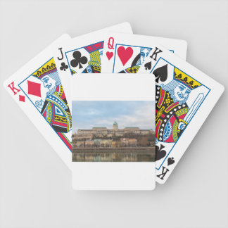 Buda Castle Hungary Budapest at day Poker Deck