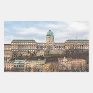 Buda Castle Hungary Budapest at day Sticker