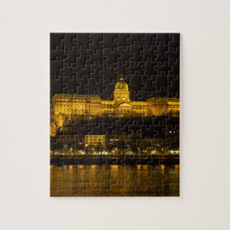Buda Castle Hungary Budapest at night Jigsaw Puzzle