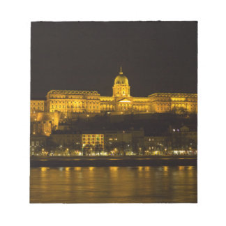 Buda Castle Hungary Budapest at night Notepad