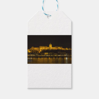 Buda Castle Hungary Budapest at night Pack Of Gift Tags