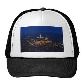 Buda Castle Hungary Budapest at night Trucker Hat