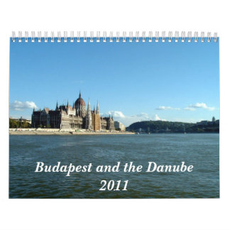 Budapest and the Danube Wall Calendar