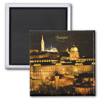 Budapest at Night Magnet