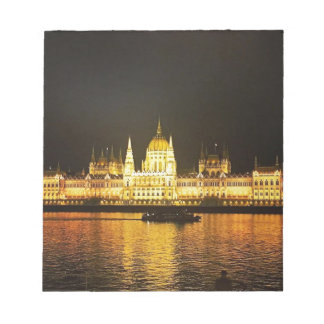 Budapest at Night Notepad