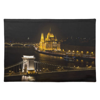 Budapest At Night Placemat