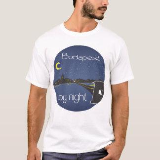 Budapest By Night, circle 2 T-Shirt