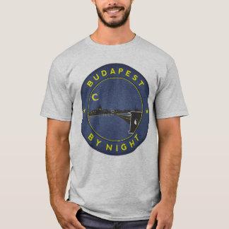 Budapest By Night, circle T-Shirt