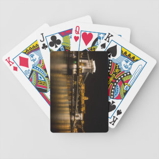 Budapest Chain Bridge And Castle Bicycle Playing Cards