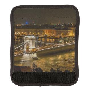 Budapest Chain Bridge Luggage Handle Wrap
