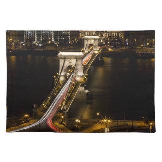 Budapest Chain Bridge Placemat