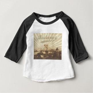 Budapest Chain Bridge Vintage Baby T-Shirt