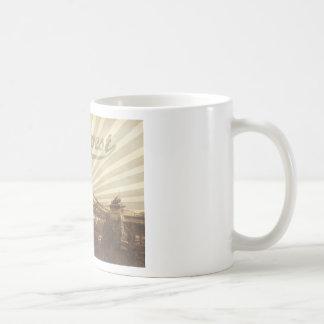 Budapest Chain Bridge Vintage Coffee Mug