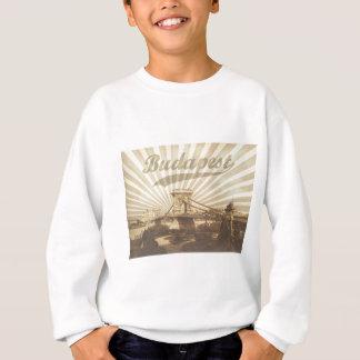 Budapest Chain Bridge Vintage Sweatshirt