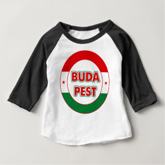 Budapest, circle, color baby T-Shirt