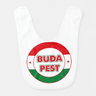 Budapest, circle, color bib