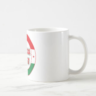 Budapest, circle, color coffee mug
