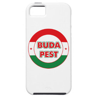 Budapest, circle, color iPhone 5 cover