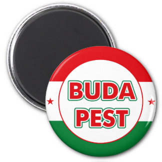 Budapest, circle, color magnet