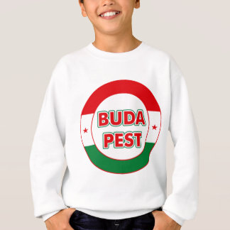 Budapest, circle, color sweatshirt