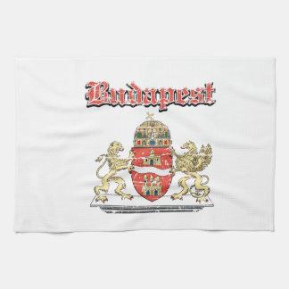 budapest City designs Kitchen Towel