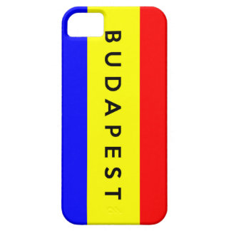 budapest city flag hungary symbol name text iPhone 5 cover