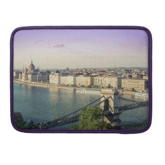 Budapest cityscape sleeve for MacBooks