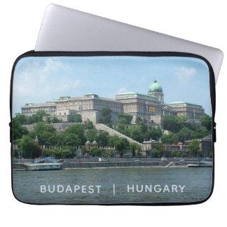 Budapest custom text laptop sleeves 1