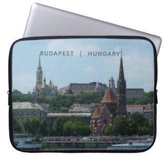 Budapest custom text laptop sleeves 2