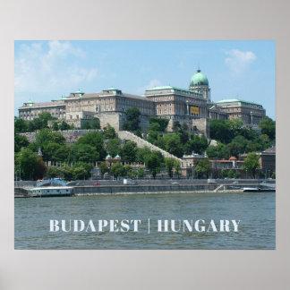 Budapest custom text poster 1