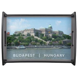 Budapest custom text serving tray 1