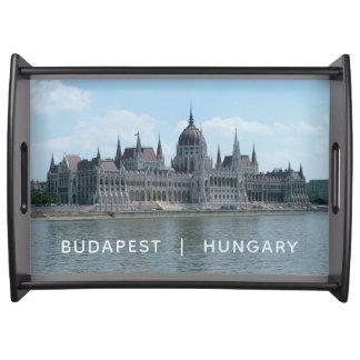 Budapest custom text serving tray 3