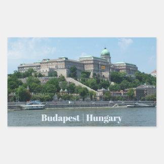 Budapest custom text stickers 1