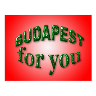 Budapest for You Postcard